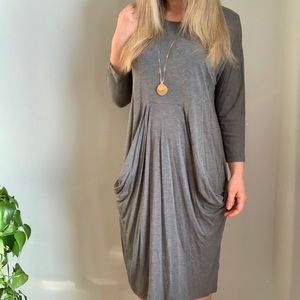 COS gray dress M medium